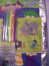Phineas and Ferb Play Pack contents