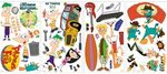 Phineas & Ferb Wall Decals