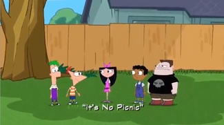 It's No Picnic title card