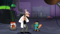 Doofenshmirtz's mid-life crisis takes effect