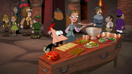 S04E25a Phineas checking the scalloped cheese slices