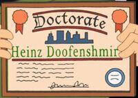 Doof's Diploma