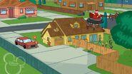 Santa picks up the Brobots