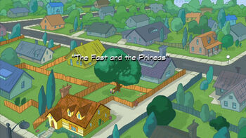 The Fast and the Phineas title card