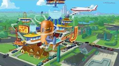 Phineas and Ferb - Phintastic Ferbulous Car Wash