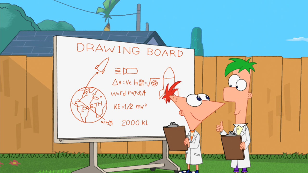 Let's Take A Rocketship To Space | Phineas and Ferb Wiki
