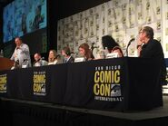 Fred Tatasciore at the Cartoon Voices 2 panel - SDCC 2015