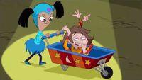 Ginger carts away Django