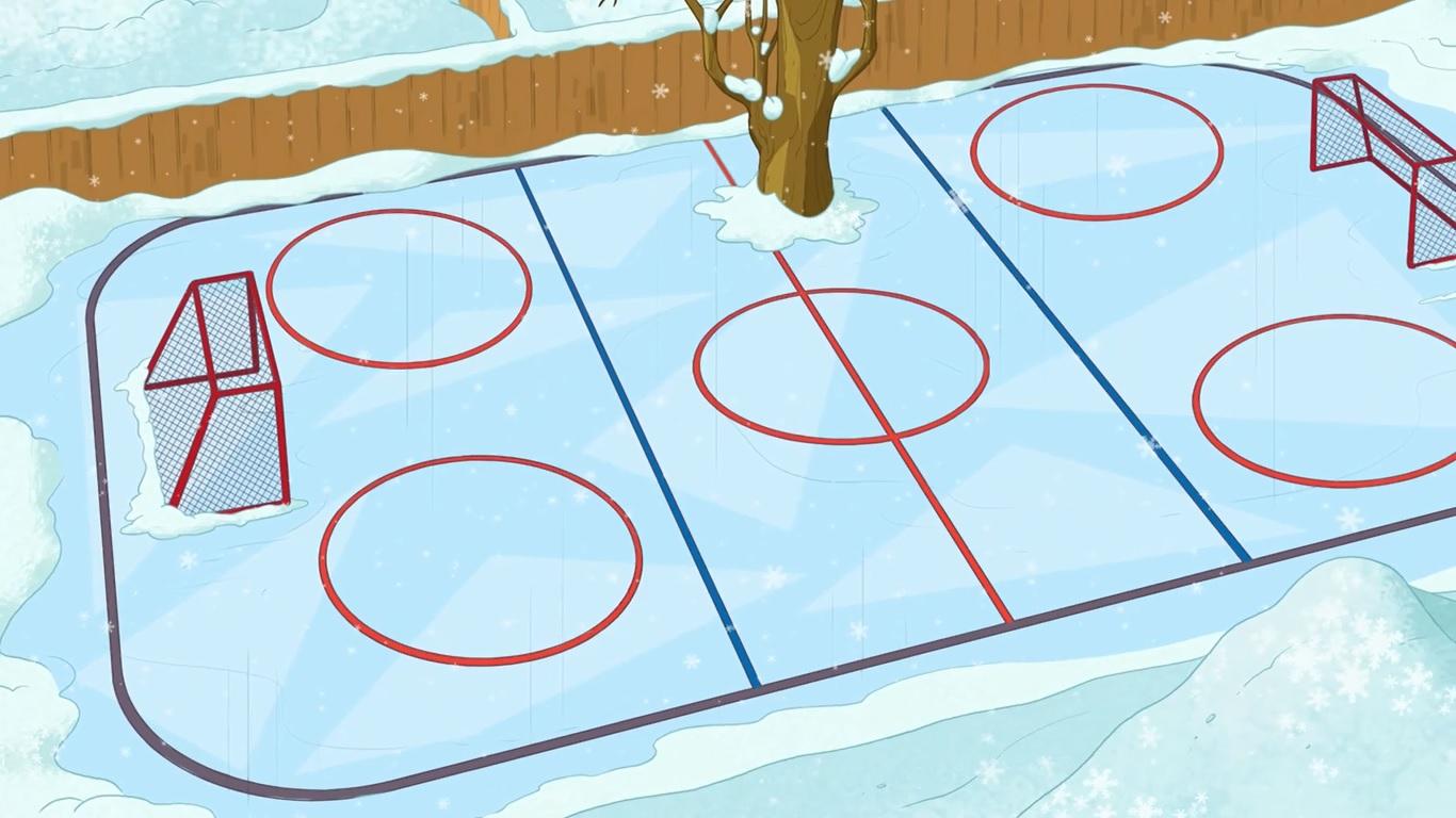 image hockey field jpg phineas and ferb wiki fandom powered