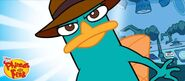 Agent P in a lab