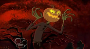 Evil evil pumpkin