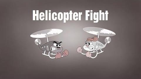 Phineas and Ferb - Helicopter Fight