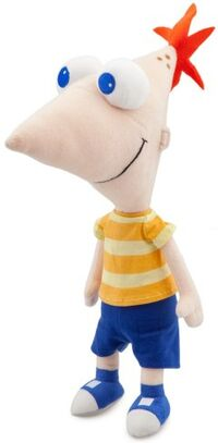 Phineas 14 inch plush toy