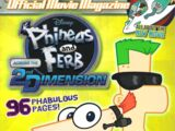 Phineas and Ferb (magazine)/Summer 2011 Movie Special