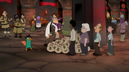 S04E25a More people appear in line for Doof's fines and permits