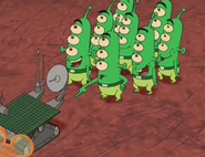 Martians and rover