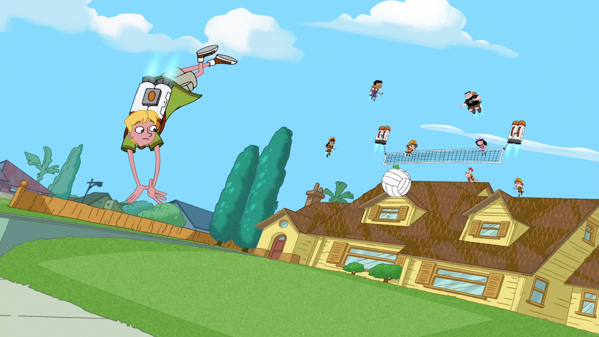 jetpack volleyball phineas and ferb wiki fandom powered by wikia