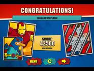 You beat Whiplash!