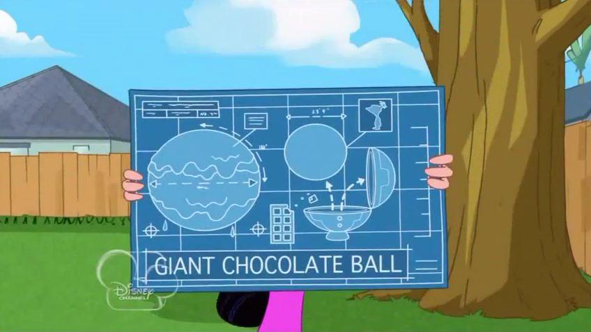 Image isabellas chocolate ball blueprintg phineas and ferb isabellas chocolate ball blueprintg malvernweather Gallery