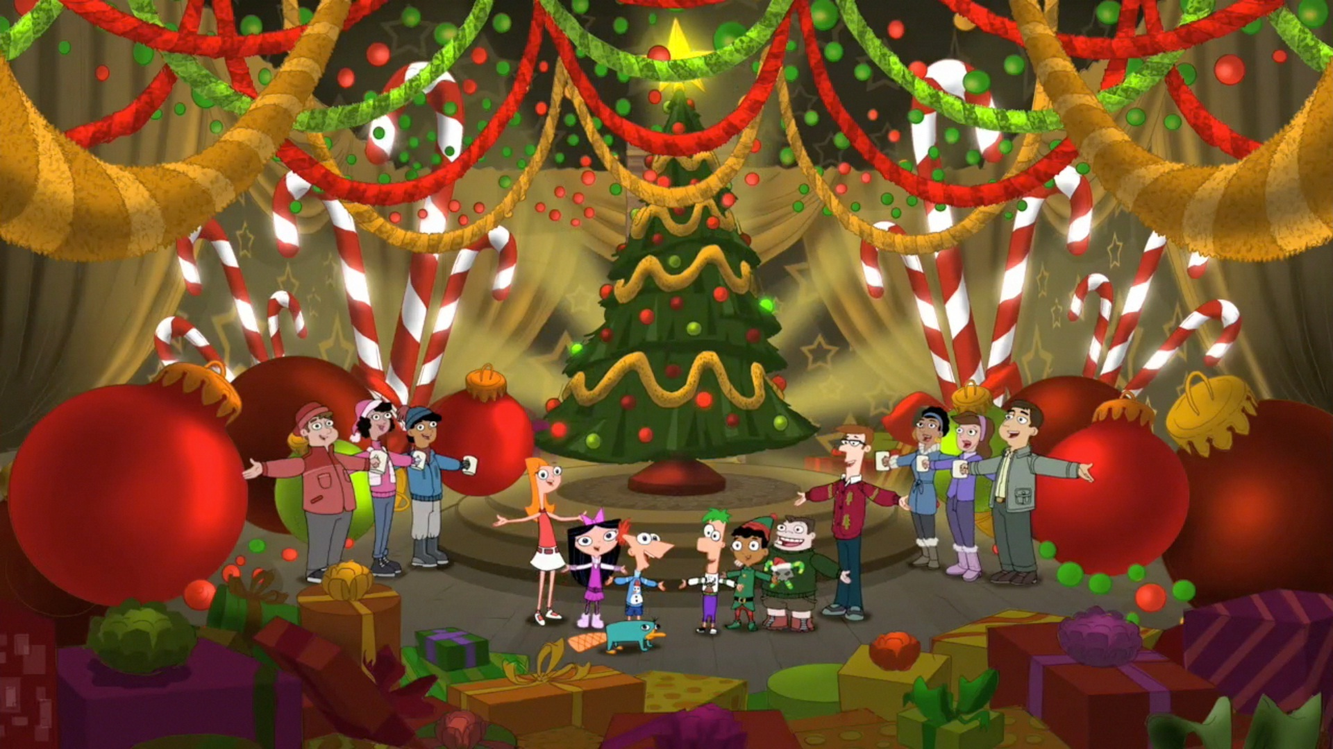 image - we wish you a merry christmas 35 | phineas and ferb wiki