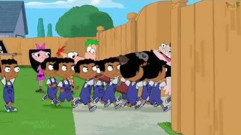 Phineas and Ferb - Buford is in Trouble