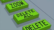 Doof pressed the Delete All button
