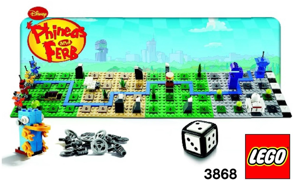 3868 Cancelled Phineas Ferb Lego Games Set Phineas And Ferb Wiki