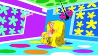 Candace in the funhouse