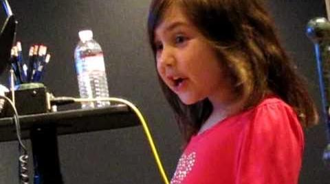 MEIRA BLINKOFF behind the scenes on PHINEAS & FERB