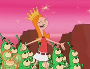 Now I'm the queen of mars
