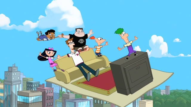 Der Fliegende Teppich Phineas Und Ferb Wiki Fandom