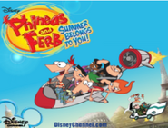 Phineas and Ferb Summer Belongs to You! promo
