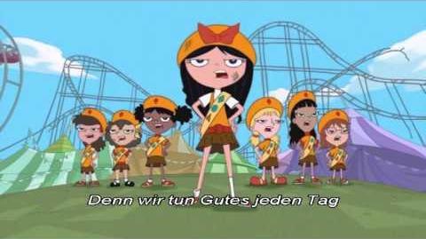 Phineas und Ferb-Song Das Pfadfinder-Mädchen-Lied (with Lyrics)