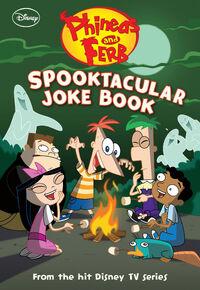 Spooktacular Joke Book front cover