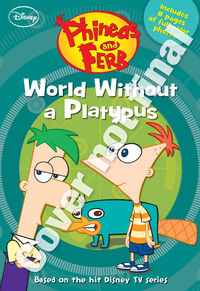 World Without a Platypus Junior Novel initial cover