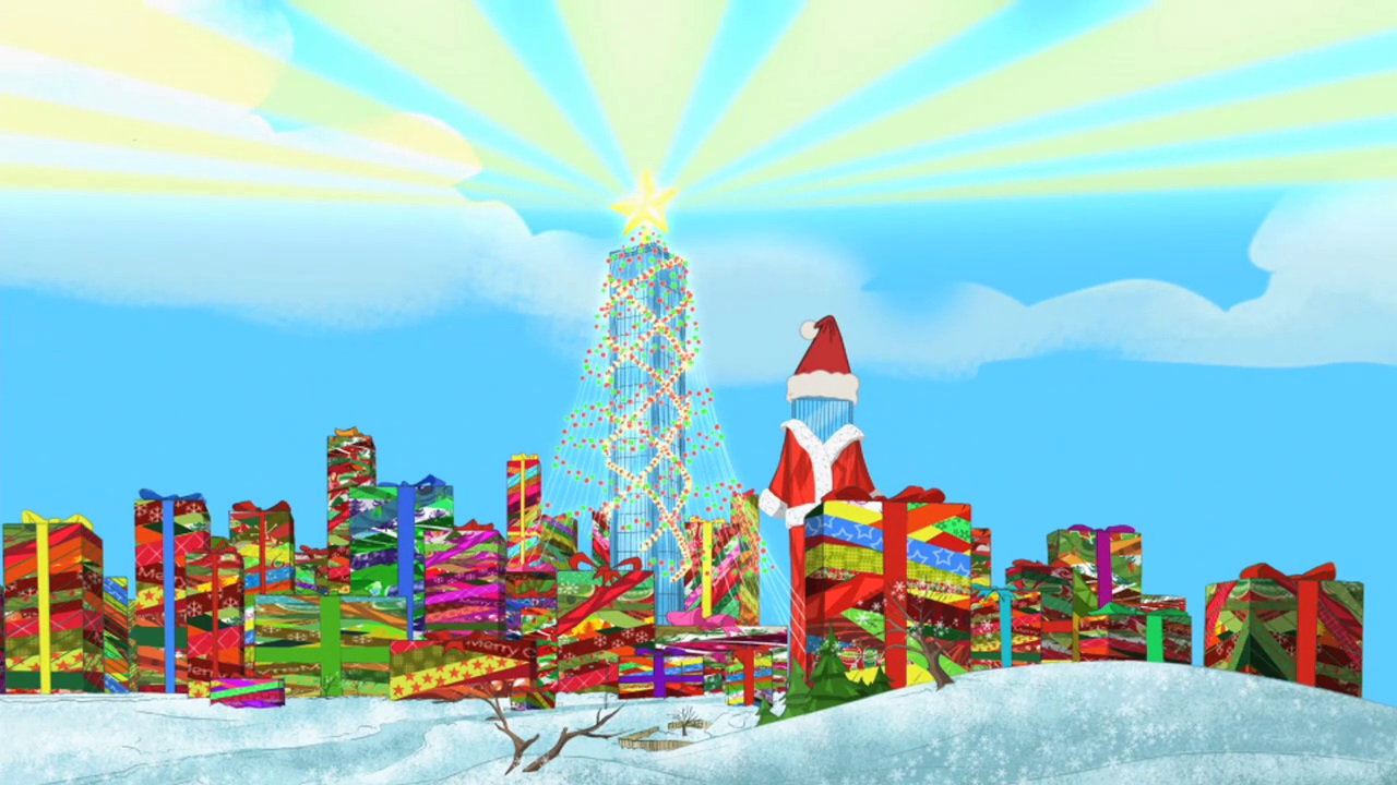 Phineas And Ferb Christmas Vacation Phineas And Ferb Wiki
