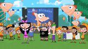 Phineas Birthday Clip o Rama promo shot