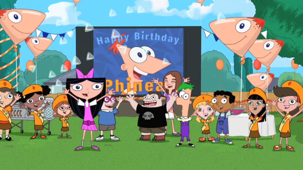 Candace Phineas And Ferb Porn Pretty phineas' birthday clip-o-rama! | phineas and ferb wiki | fandom