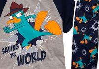 Saving the World - Agent P boys pajamas set
