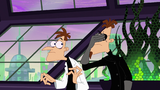 2nd Dimension Doofenshmirtz face palms