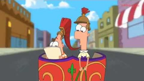 Phineas and Ferb - Paul Bunyan's Pancake Haus (Jingle)