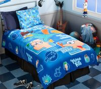 P&F twin duvet cover