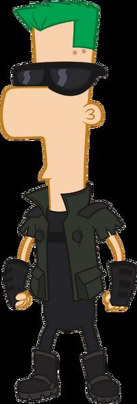 2nd Dimension Ferb Fletcher