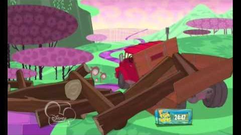 El camino amarillo-Phineas y ferb(españa)