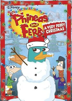 A Very Perry Christmas DVD Cover