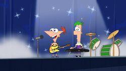 Phineas Ferb cantano Gitchigoo