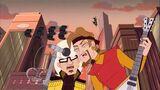 Danny & Bobbi Sing Robot Riot