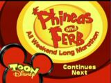 "Toon Disney's ""Phineas and Ferb All Weekend Long Marathon"""
