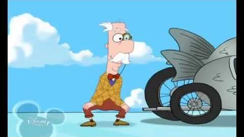 Phineas und Ferb - Die dunkle Schlucht von McGregor Song Der Fischhändler fliegt