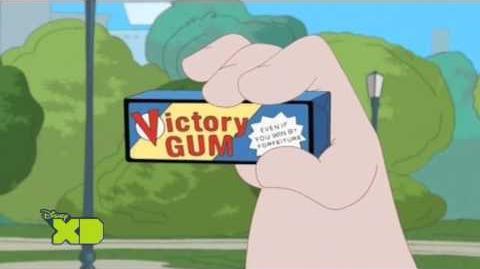 Phineas und Ferb - Victory Gum